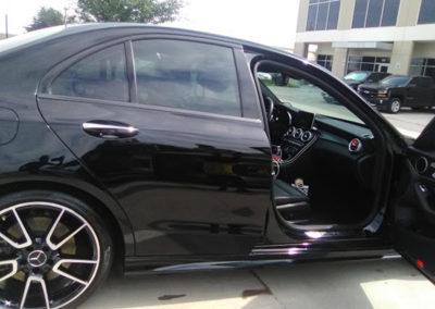 Detailing Black Car